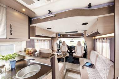 wohnmobil medium camper in schweden mieten. Black Bedroom Furniture Sets. Home Design Ideas