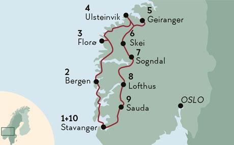 Die Schonsten Fjorde Ferien In Norwegen Kustenstadte