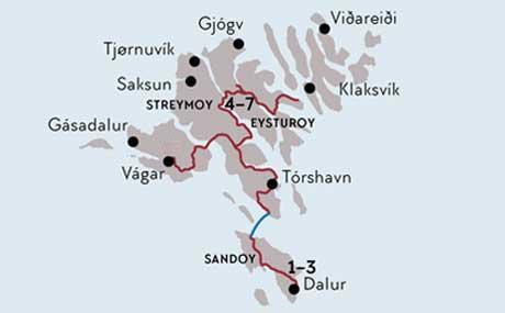 Färöer Inseln Karte.Familienabenteuer Färöer Inseln Familienferien Im Norden