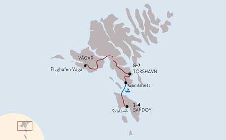 Färöer Inseln Karte.Angelabenteuer Auf Den Färöer Inseln Island Tours