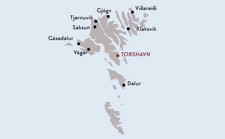 Färöer Inseln Karte.Silvester Auf Den Färöer Inseln Winterferien Im Norden