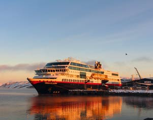 Hurtigruten in Winterstimmung